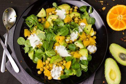 Avocado Chickpeas Salad: Delicious Salad for PCOS