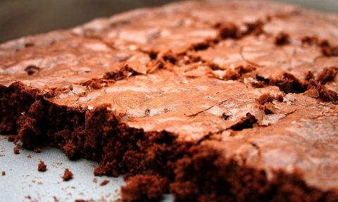 Raw Chocolate Brownies for PCOS