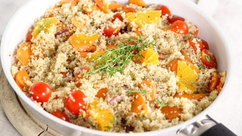 Tawa Quinoa: A Crunchy Healthy Recipe for PCOS