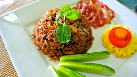 Vegetable Brown Fried Rice: Nutritious Recipe for PCOS