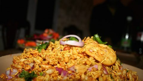 Moong Bhel: Classic Bhel with a Healthy Twist