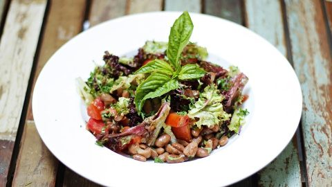 Kidney Beans Green Salad: Tasty Way to Eat your Rajma