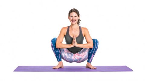 MALASANA (Garland Pose) (Wide Squat Pose)