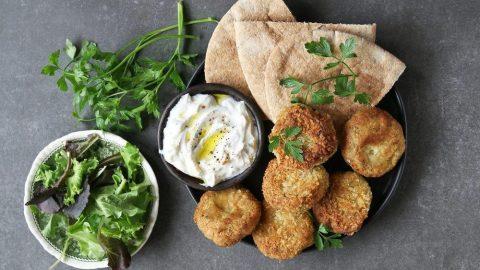 Chickpeas veg kebab