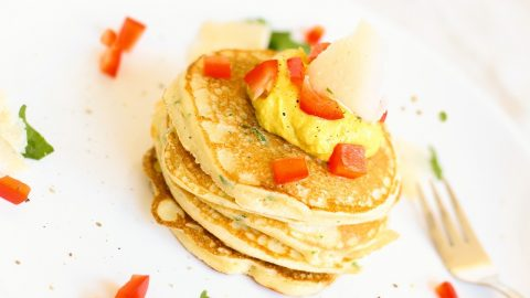 Egg Vegetable Pancake