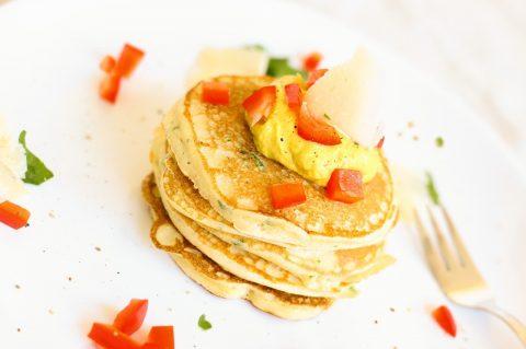 Egg Vegetable Pancake